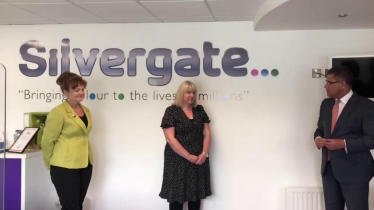 Embedded thumbnail for Sarah Atherton visits Silvergate with the Secretary of State for Business, Energy and Industrial Strategy